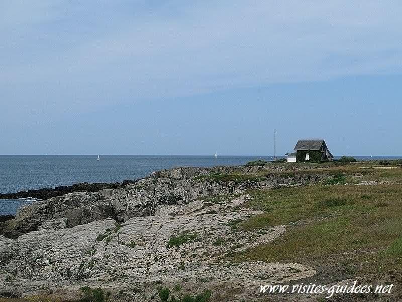 La côte sauvage Le Pouliguen