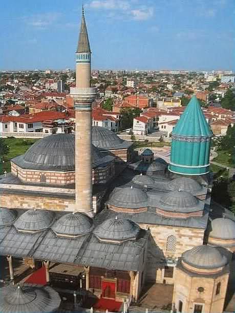 Mausolée de Mevlana Konya Turquie