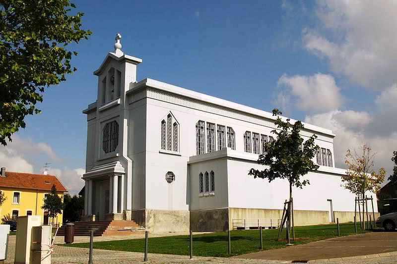 Eglise Sainte Barbe de Crusnes Meurthe et Moselle