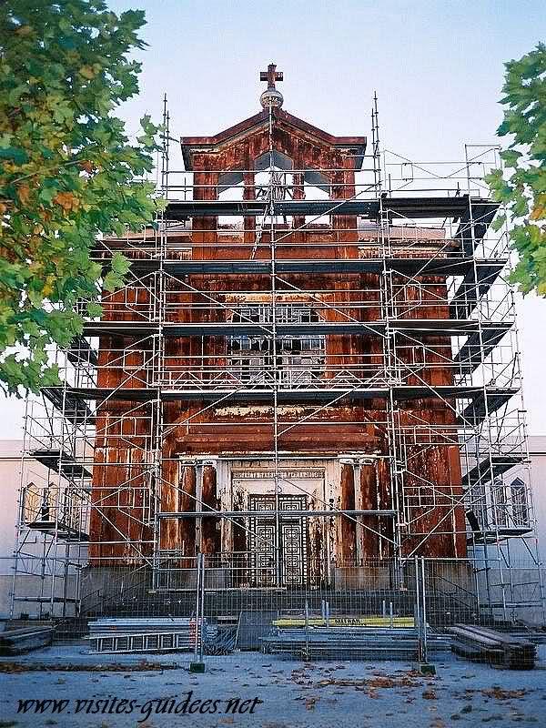 Eglise rouillée de Crusnes Meurthe et Moselle