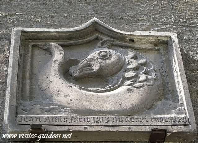 Médaillon de la crypte Sainte Agnes