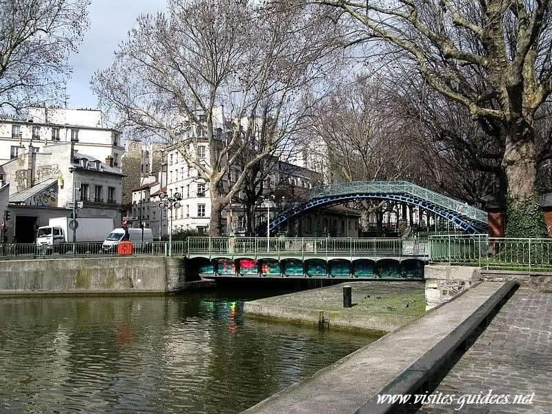 Pont tournant de la Grange aux Belles