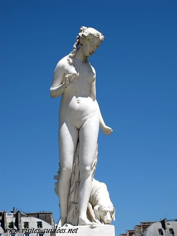 Nymphe Jardin des Tuileries