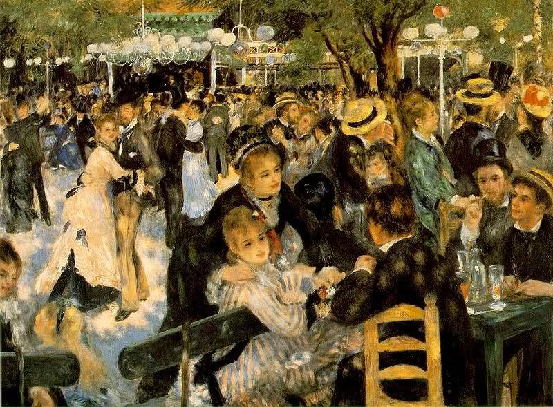 Renoir Le bal du Moulin de la Galette