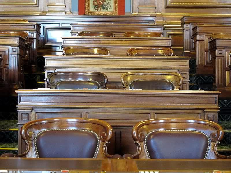 Salle du Conseil de Paris