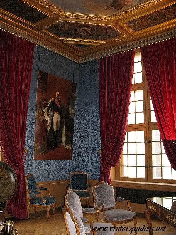 Salles Mazarin pavillon de la Reine Vincennes