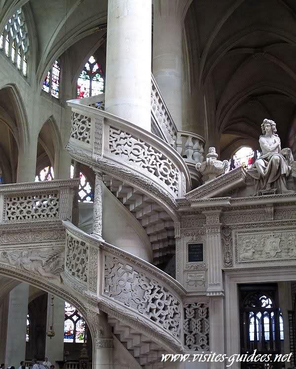 Le jubé Saint Etienne du Mont Paris