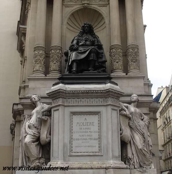 Fontaine Molière Paris