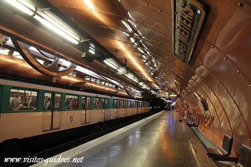 Station de métro Arts et Métiers