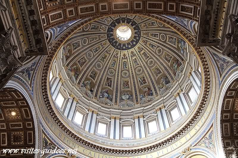 Coupole Basilique Saint Pierre de Rome