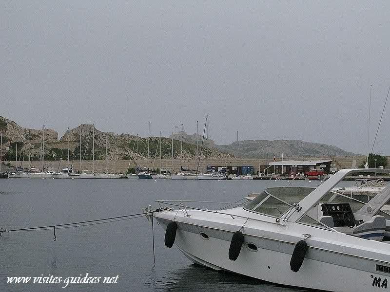 Ile de Ratonneau Marseille