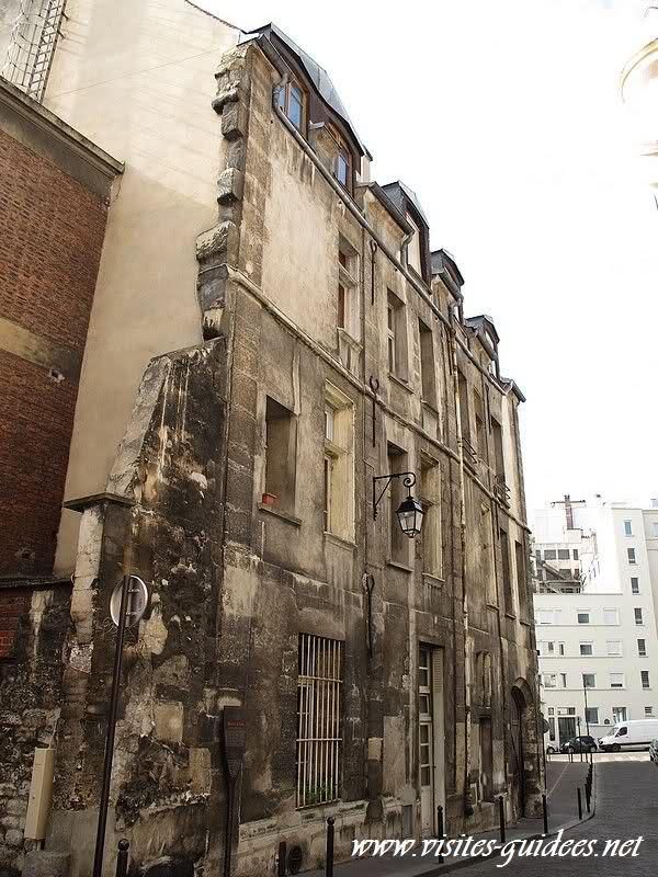 Les plus vieilles maisons de Paris