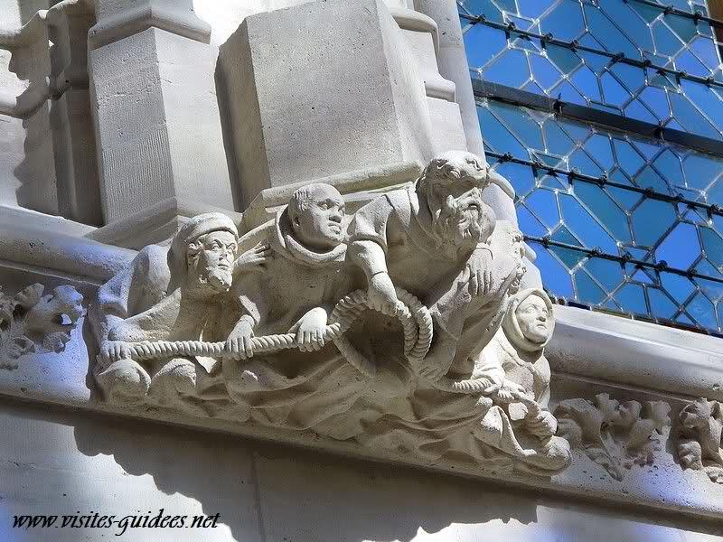 Culots sculptés Sainte Chapelle Vincennes