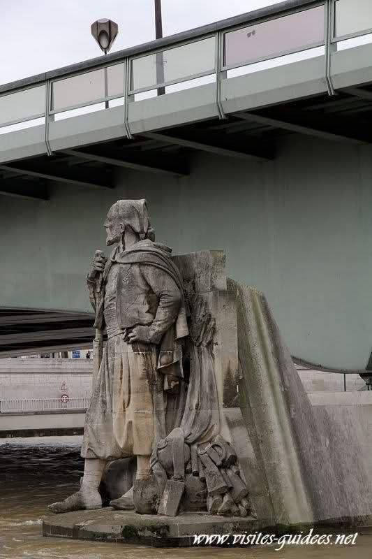 Zouave Pont de l'Alma