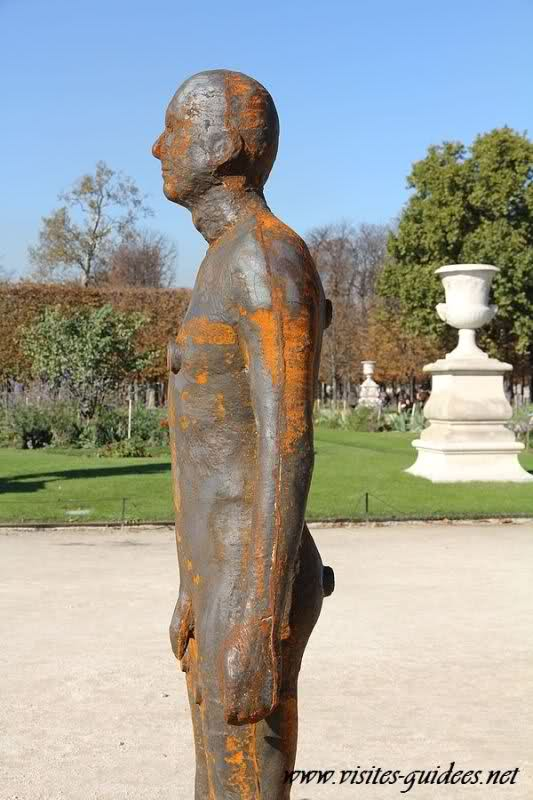 Antony Gormley Another time Fiac 2011