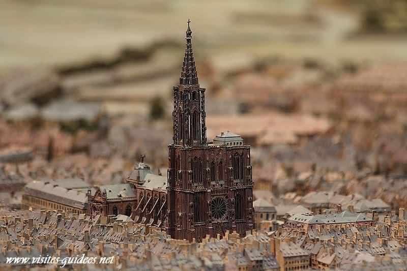 Plan-relief Strasbourg