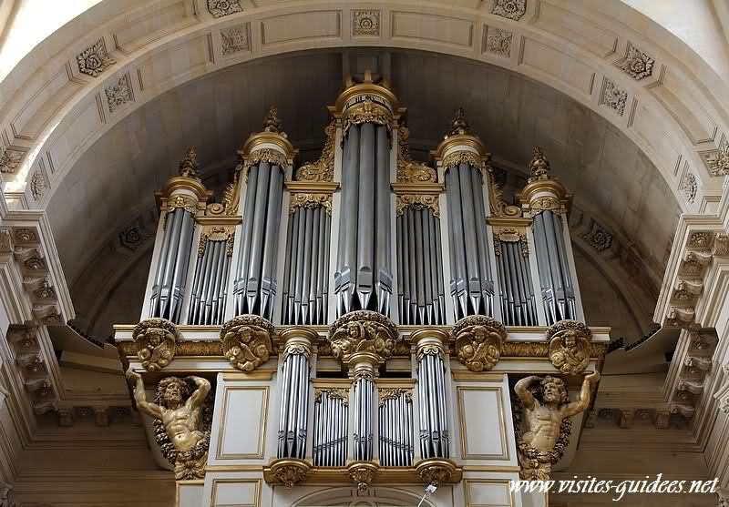 Grand orgue église des soldats