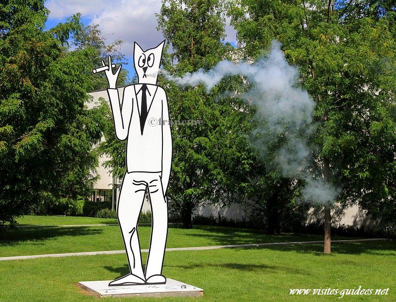 Chats fumeurs Séchas Mac Val Vitry sur Seine