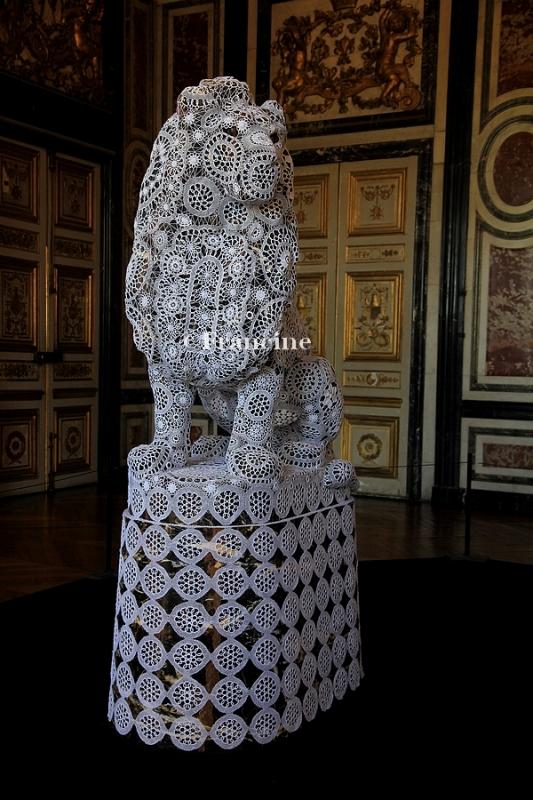 Joana Vasconcelos Versailles Gardes