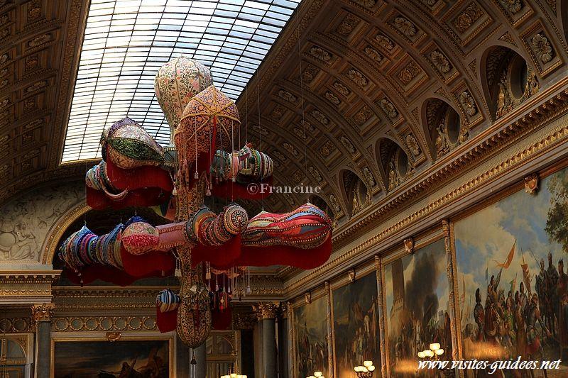 Joana Vasconcelos Versailles royal Walkyrie
