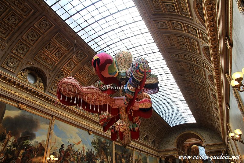Joana Vasconcelos Versailles royal Walkyrie