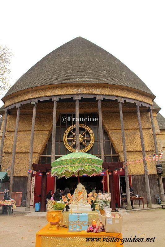 Grande Pagode de Vincennes Paris 12ème