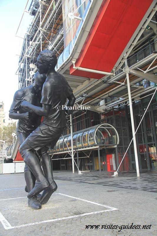 Coup de tête de Zidane Centre Pompidou