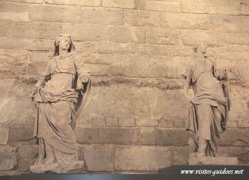 Carrousel du Louvre vestiges des Tuileries