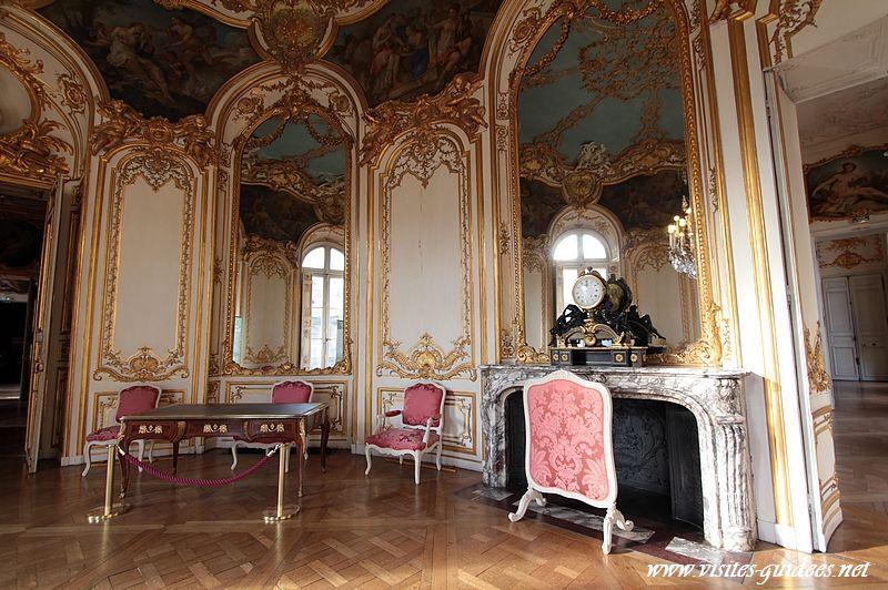 Hôtel de Soubise salon ovale de la princesse