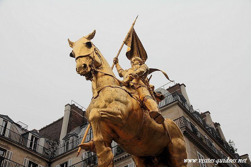 Statue de Jeanne d'Arc Paris