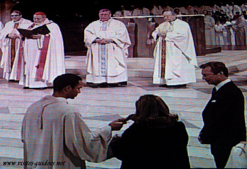 Bénédiction du Bourdon Marie par Monseigneur Vingt-Trois