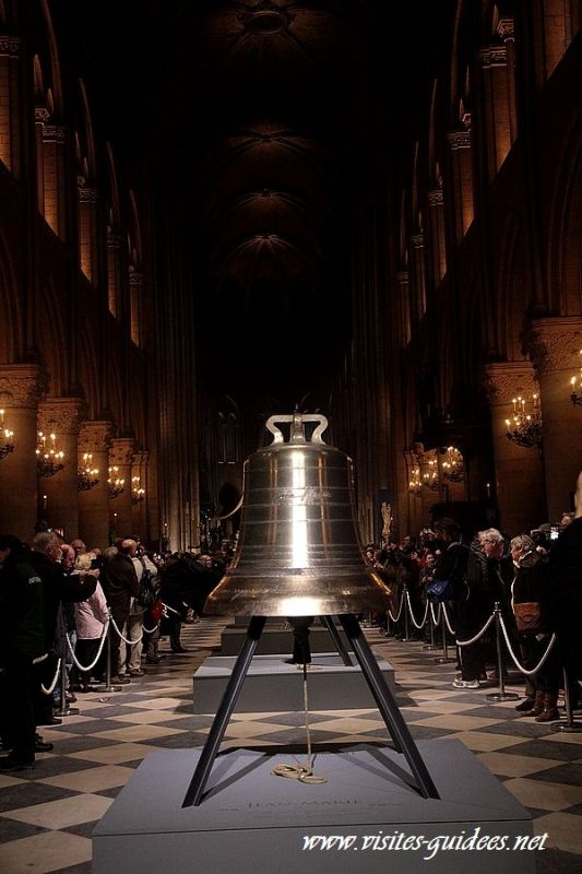 Les nouvelles cloches à Notre Dame de Paris