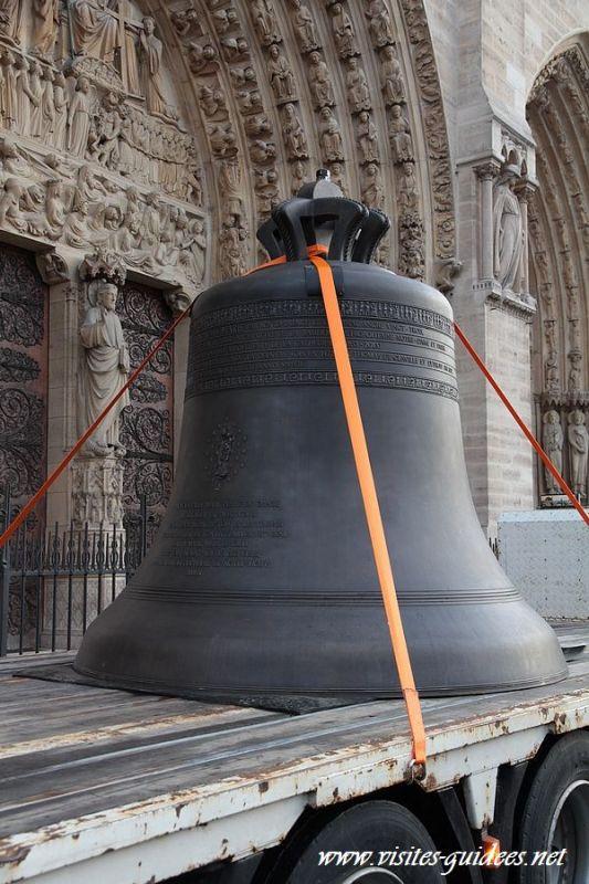 Nouvelles cloches de Notre-Dame