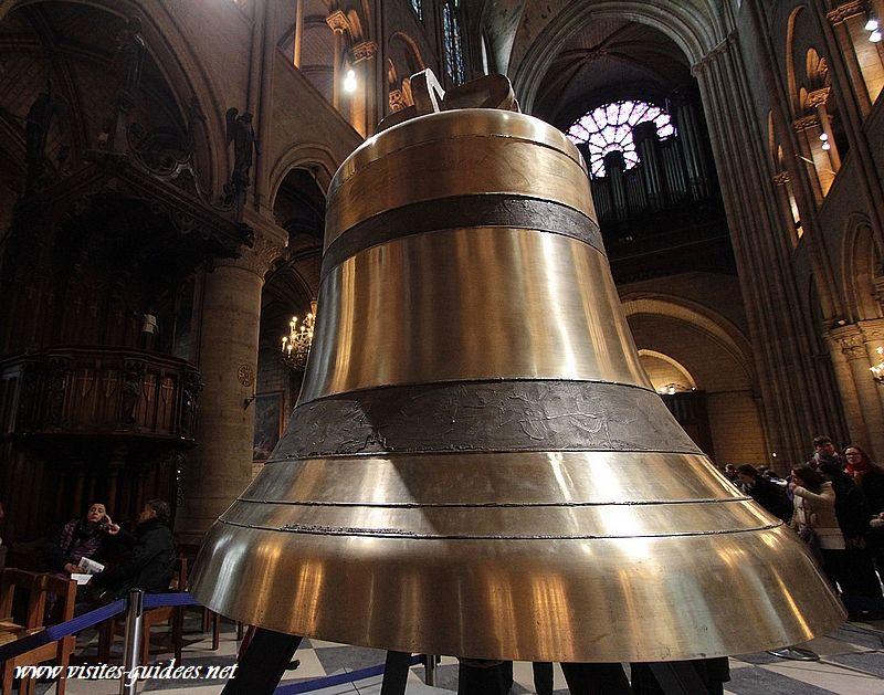 les nouvelles cloches de Notre Dame