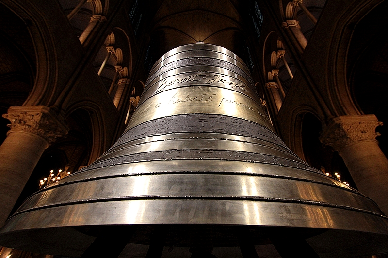 Nouvelles cloches de Notre-Dame de Paris