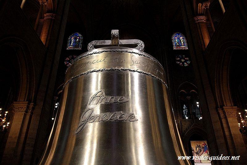 Les nouvelles cloches de Notre-Dame de Paris