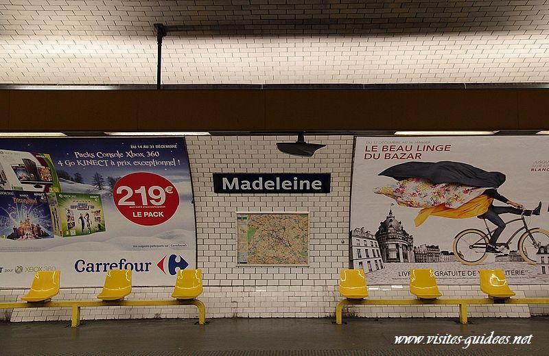 Station de métro La Madeleine