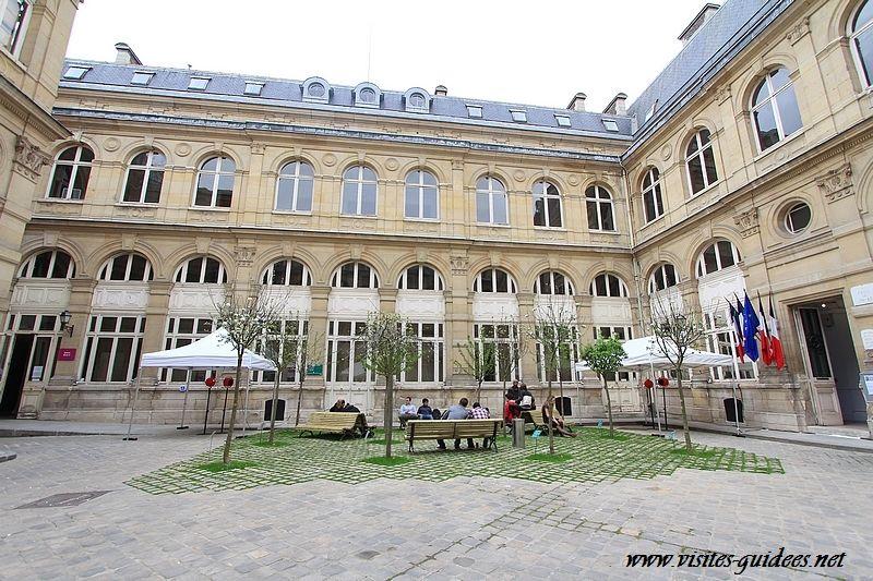 Verger du soldat Laboureur Mairie de Paris 4ème arrondissement