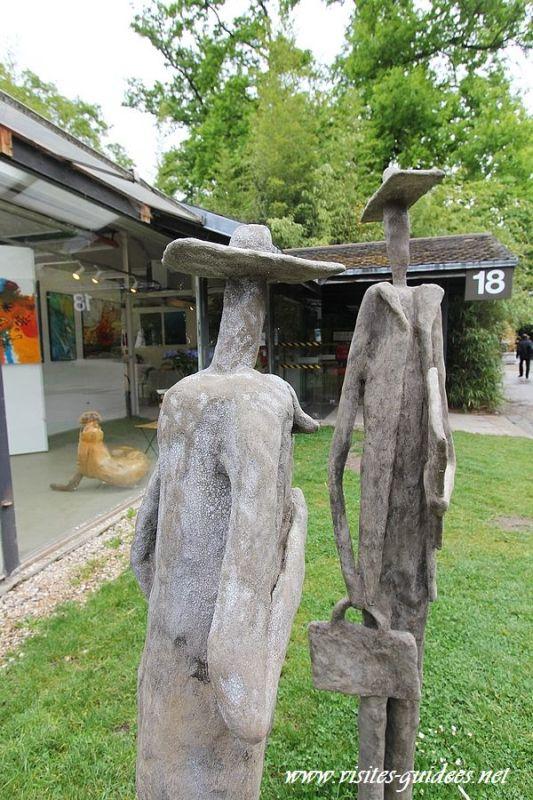 Parc Floral de Paris : Cercle des Artistes de Paris Claire Boris