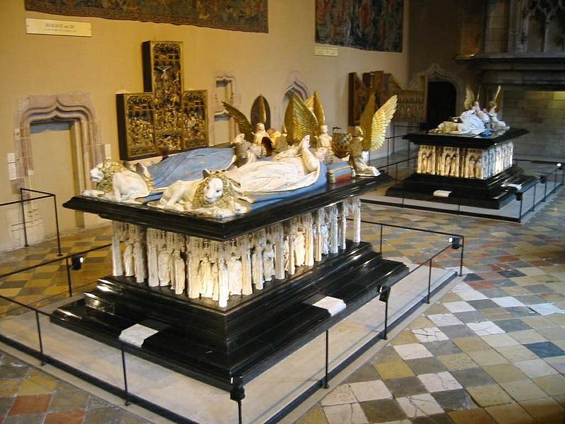 tombeaux de Jean sans Peur et Philippe le Hardi