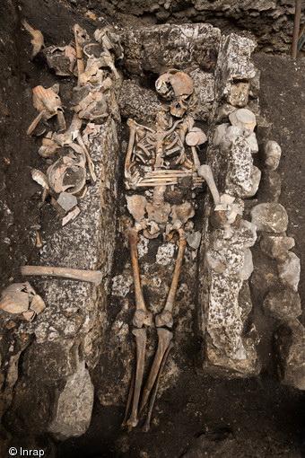 Fouilles archéologiques sur l'Ile de la Cité
