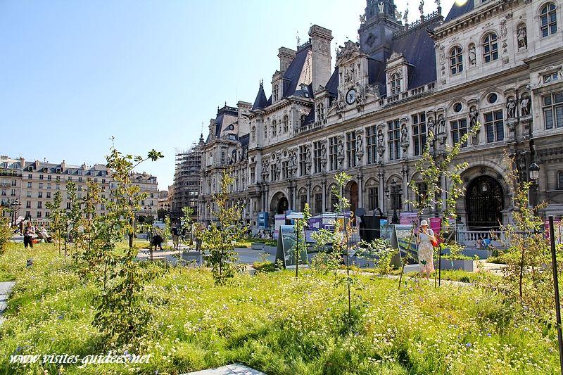 Jardin éphémère Paris